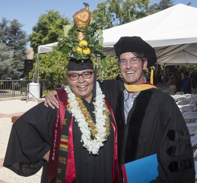 Richard Nevle and graduate