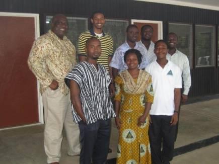 Jamal Cherry in Ghana