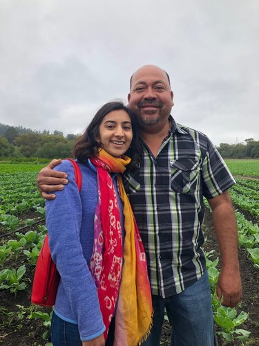 Riya Mehta and Javier Zamora
