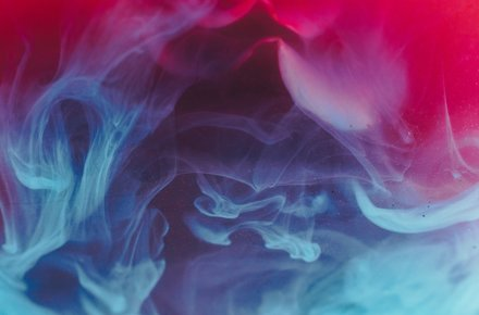 Abstract of colorful smoke