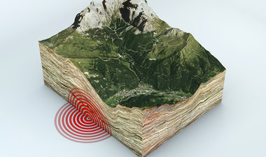 earthquake illustration